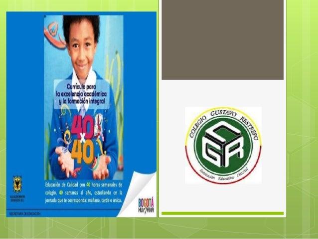  El objetivo es ofrecer a los niños, niñas y jóvenes en edadescolar, que cursan básica primaria, una opción para mejorarl...