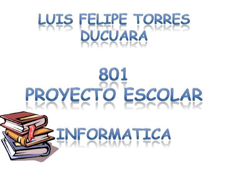 Un proyecto escolar es una planificación que consiste     en un conjunto de actividades que se encuentran      interrelaci...