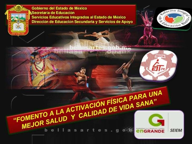 Gobierno del Estado de MéxicoSecretaría de EducaciónServicios Educativos Integrados al Estado de MéxicoDirección de Educac...