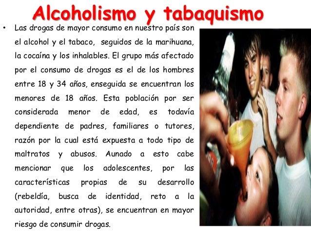 El reconocimiento de la persona como el alcoholismo enfermo crónico