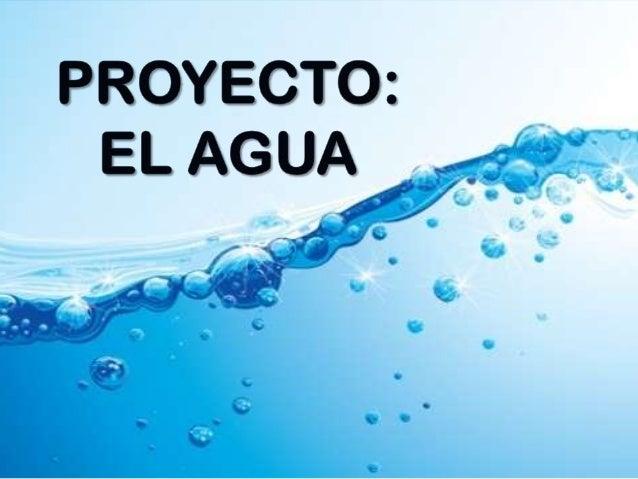 Proyecto Educación Infantil Sobre El Agua