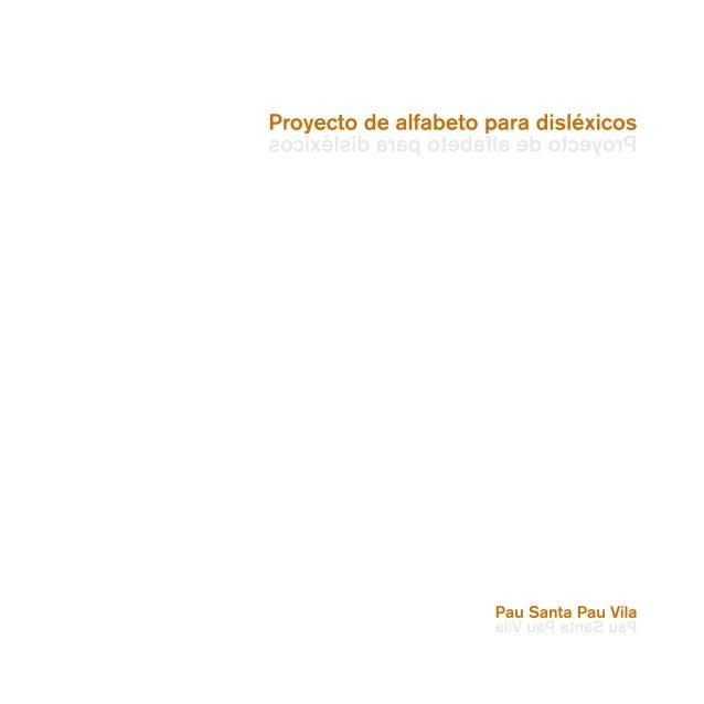 PROYECTO DE ALFABETO PARA DISLÉXICOS