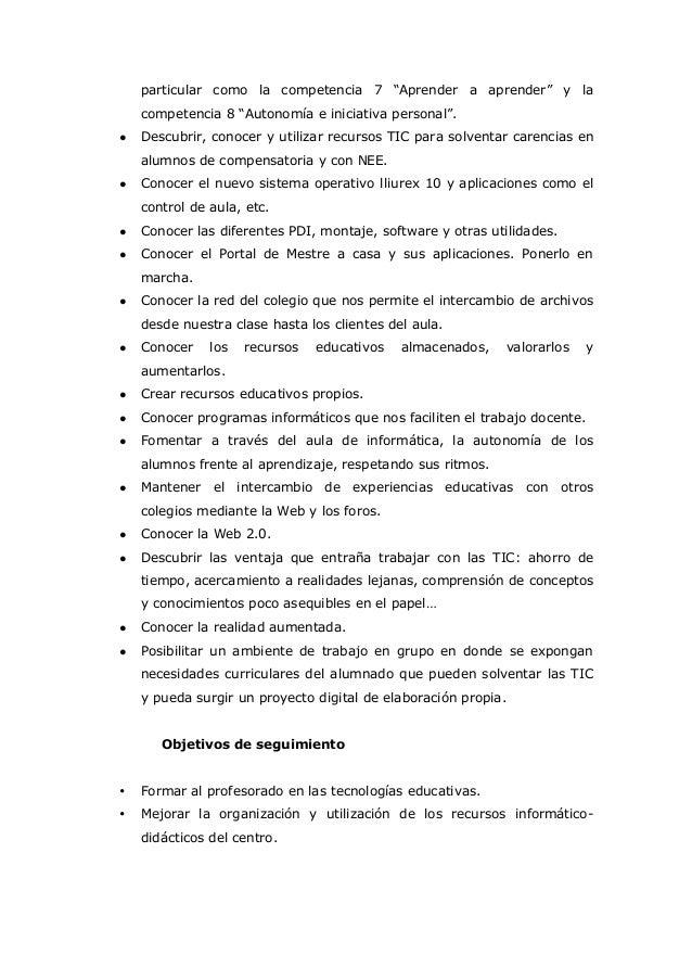 Proyecto Aplicación De Las Tic 1