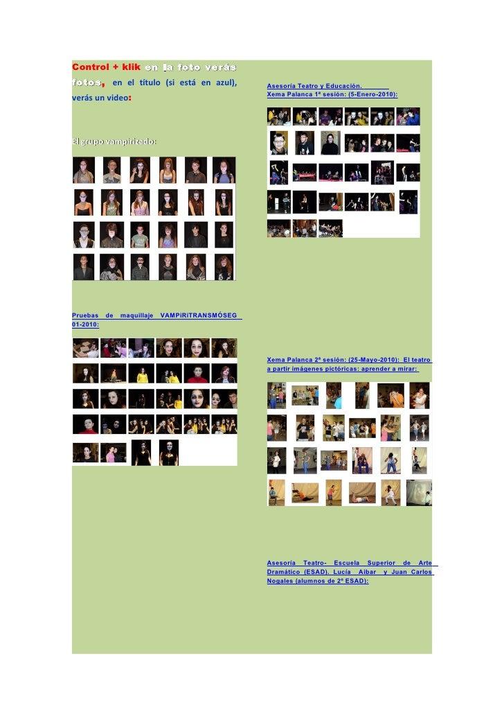 Control + klik en la foto verás fotos, en el título (si está en azul), fotos                                         Aseso...