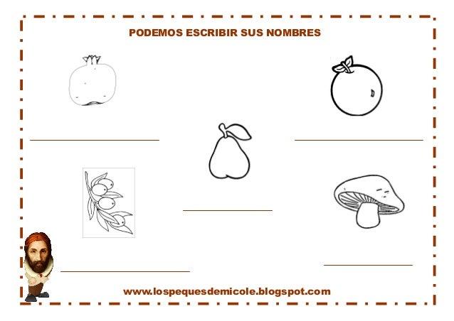 www.lospequesdemicole.blogspot.com  PODEMOS ESCRIBIR SUS NOMBRES