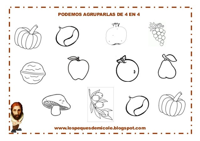 www.lospequesdemicole.blogspot.com  PODEMOS AGRUPARLAS DE 4 EN 4