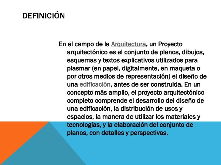Proyecto arquitect nico cetis2 for Descripcion de una obra arquitectonica