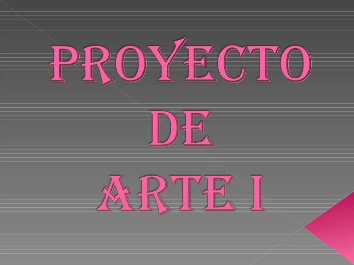 Proyecto Arte 10agos Slide 1