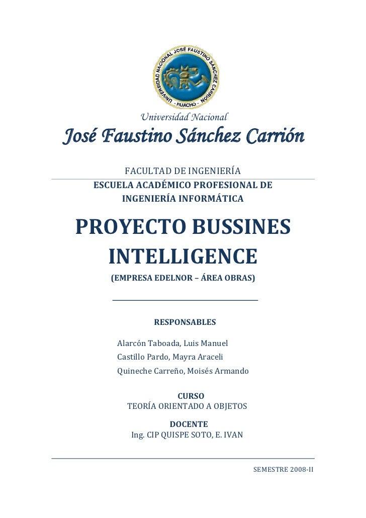 Universidad Nacional José Faustino Sánchez Carrión          FACULTAD DE INGENIERÍA    ESCUELA ACADÉMICO PROFESIONAL DE    ...