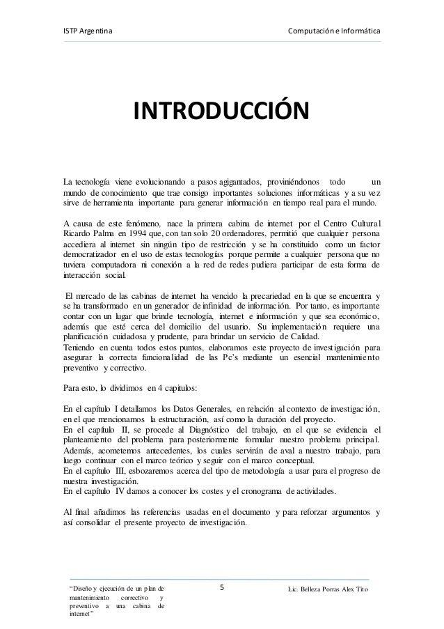 Proyecto cabinas de internet alumno guzmán
