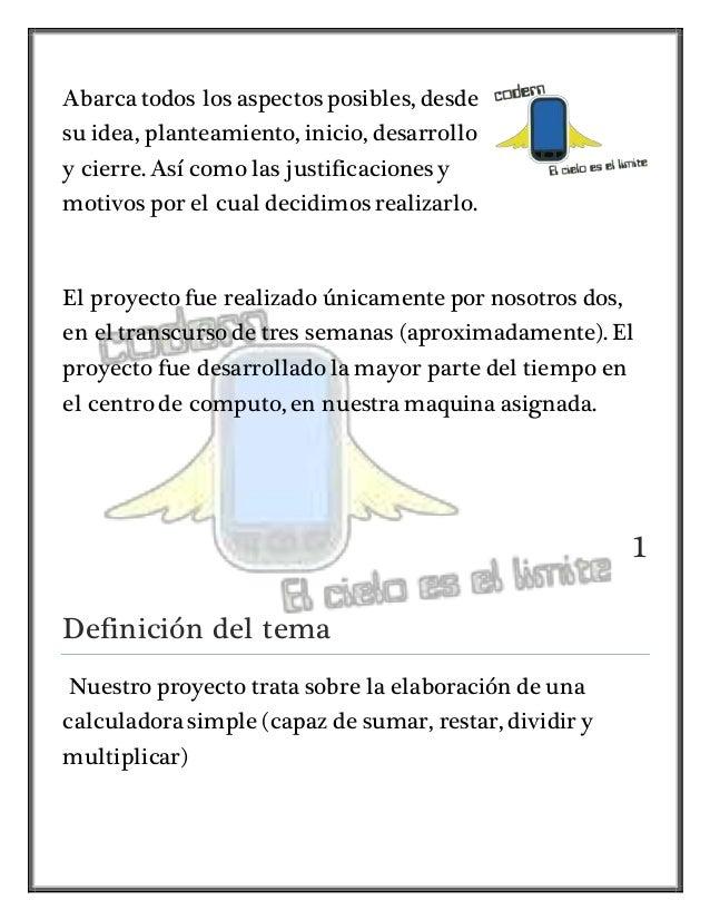 Proyecto calculadora