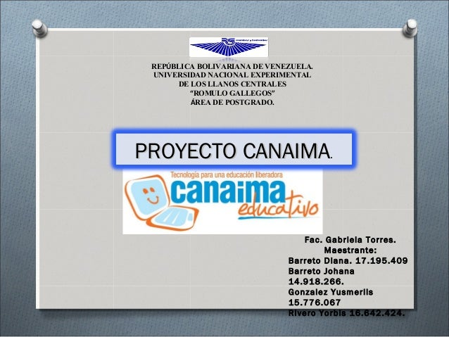 """REPÚBLICA BOLIVARIANA DE VENEZUELA. UNIVERSIDAD NACIONAL EXPERIMENTAL DE LOS LLANOS CENTRALES """"ROMULO GALLEGOS"""" ÁREA DE PO..."""