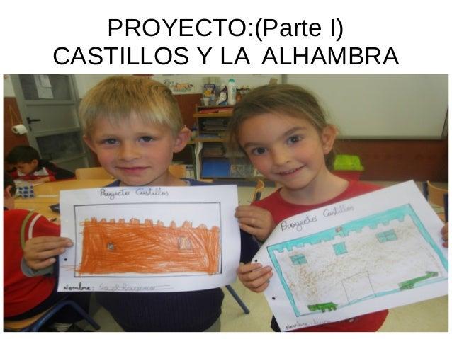 PROYECTO:(Parte I) CASTILLOS Y LA ALHAMBRA