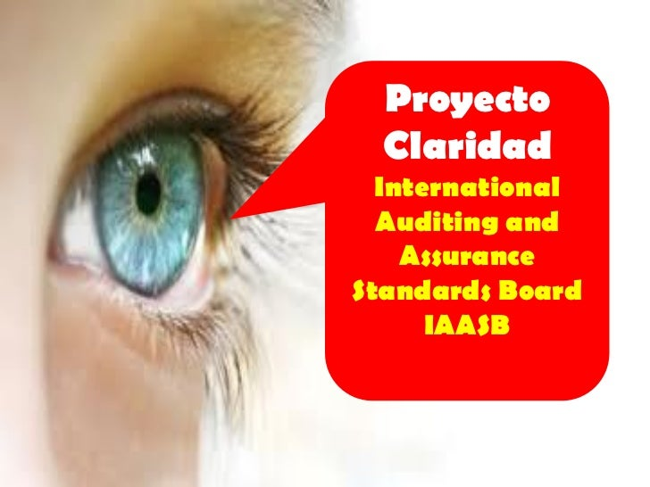 Proyecto  Claridad  International  Auditing and    AssuranceStandards Board      IAASB