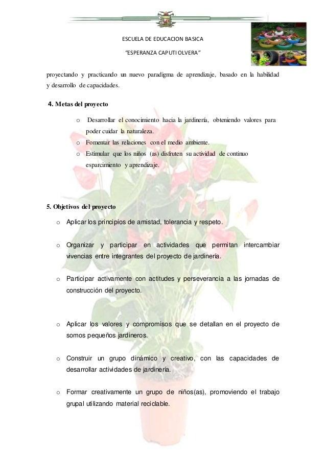 Proyecto club jardineria 12 njjj for Proyecto de jardineria
