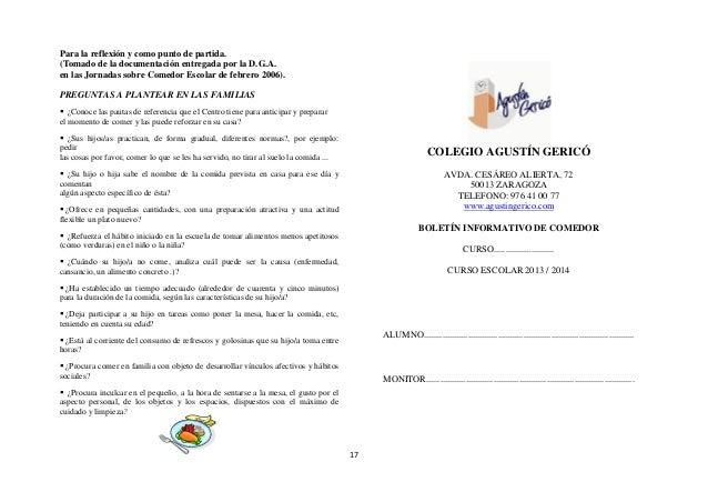 Proyecto comedor escolar 2013 2014 for Proyecto de comedor comunitario