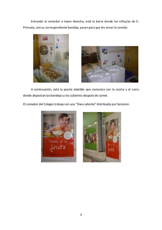 Proyecto Comedor Escolar 2013-2014