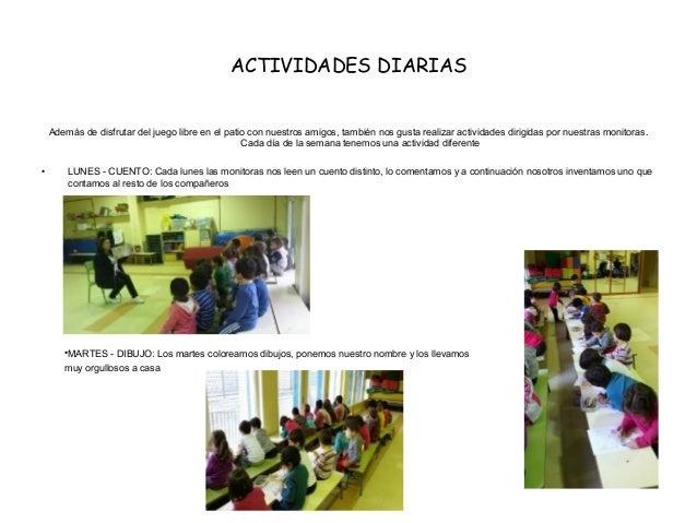 actividades que se pueden realizar en un comedor infantil On proyecto comedor infantil