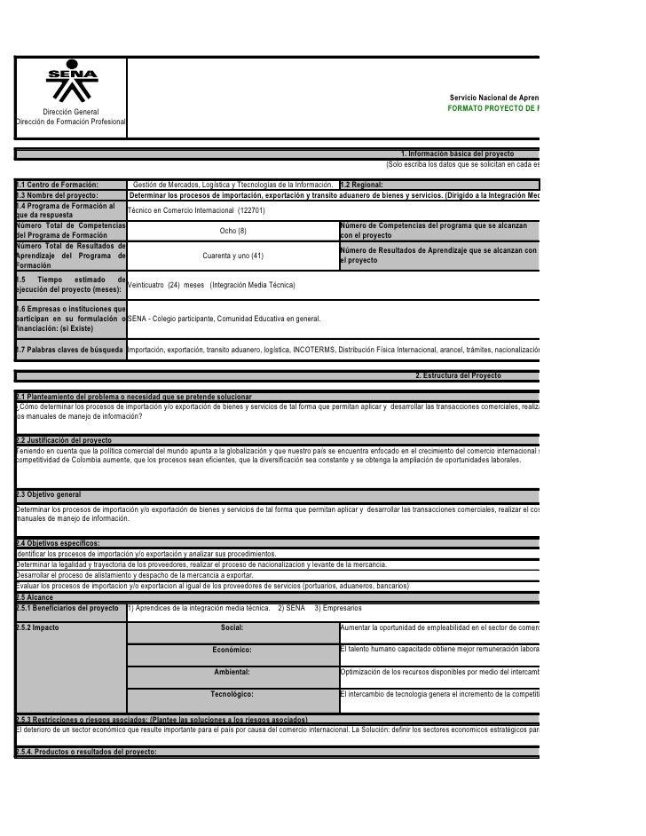 Servicio Nacional de Aprendizaje SENA          Dirección General                                                          ...