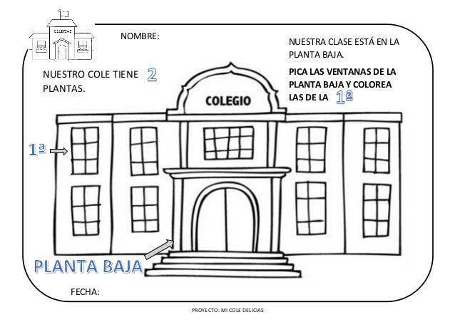 Proyecto Completo Mi Cole Delicias Objetivos Actividades