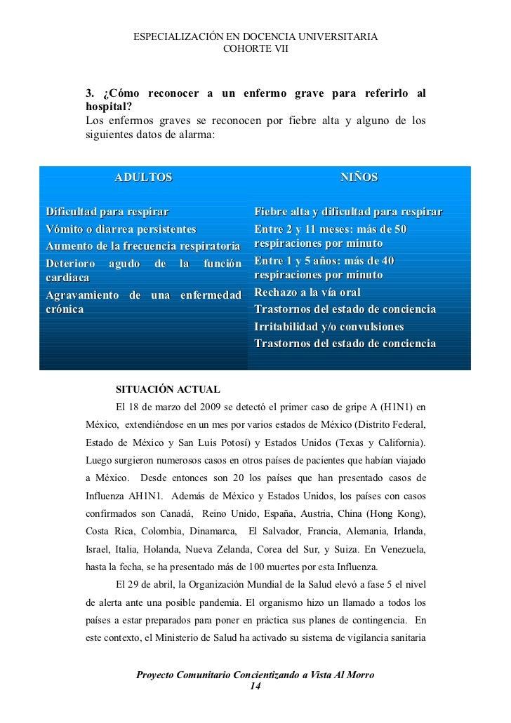 ESPECIALIZACIÓN EN DOCENCIA UNIVERSITARIA                                   COHORTE VII           3. ¿Cómo reconocer a un ...
