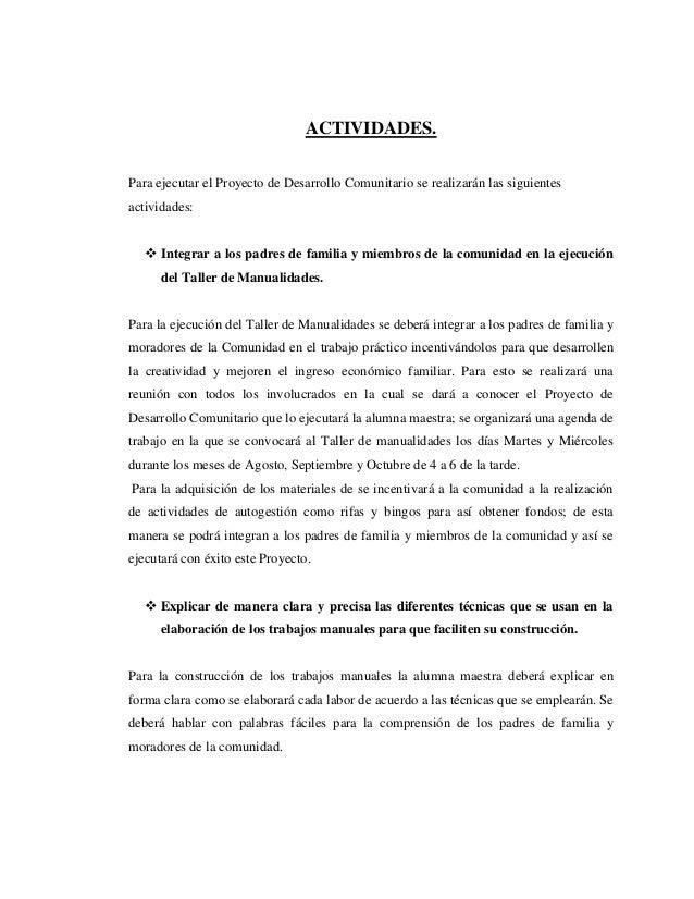 Proyecto Comunitario Manualidades Para Arreglos De Fiesta Infantil
