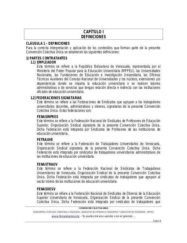 Proyecto convenci n unificado 2013 for Clausula suelo oficina directa