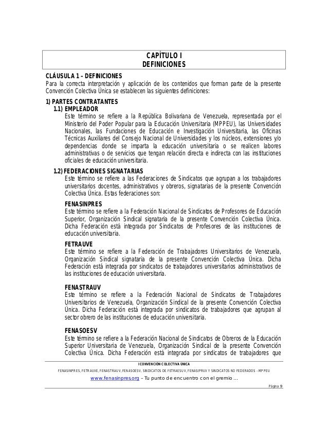 Proyecto convenci n unificado consignado 21 01 2013 for Clausula suelo oficina directa