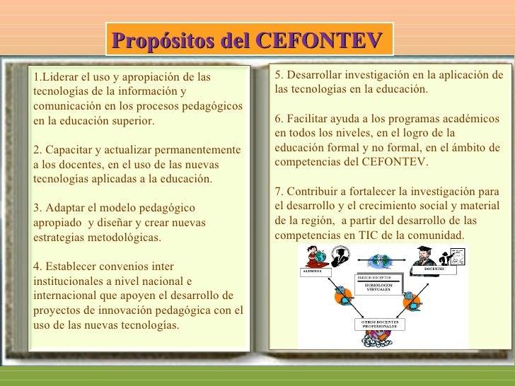 FUNCIONES DE CEFONTEV   1