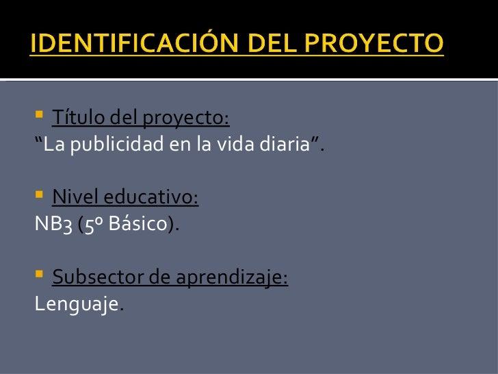Proyecto De Aprendizaje 5 B Sico
