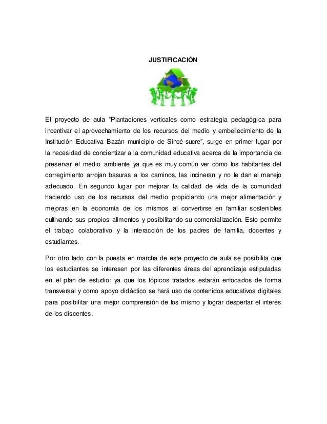 Proyectodeaula for Plantaciones verticales