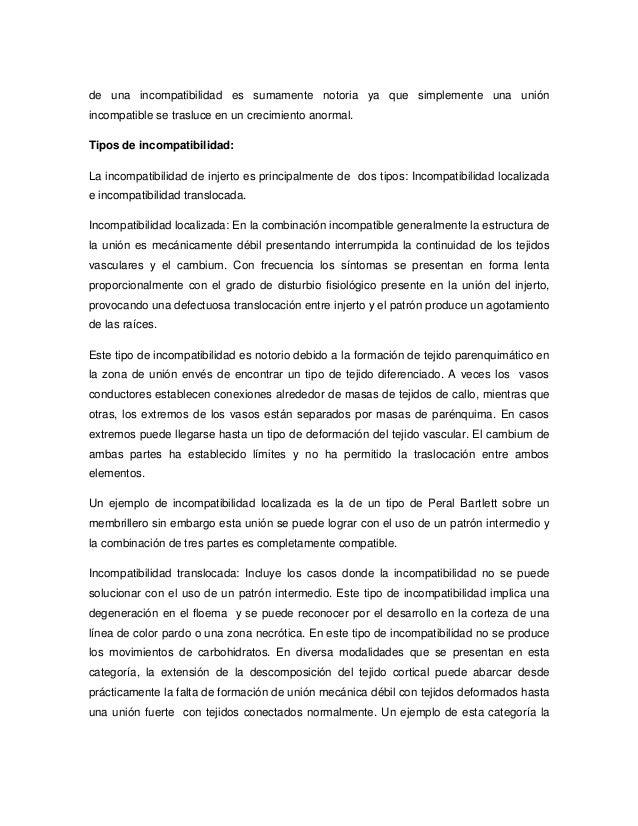 Proyecto de aula de biologia for Incompatibilidad en plantas