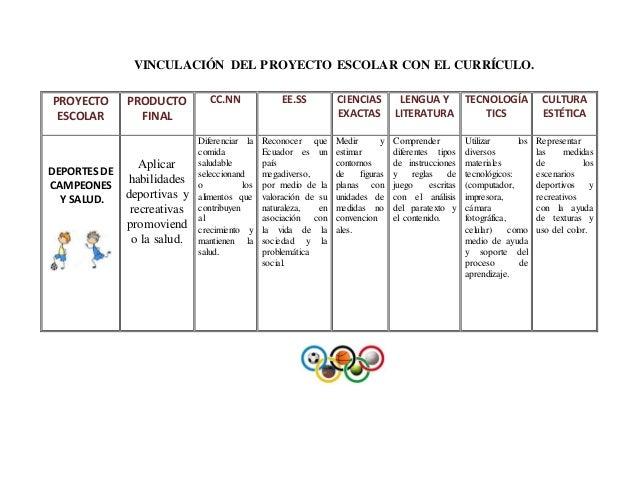 Proyecto de deportes for Proyecto de restaurante escolar