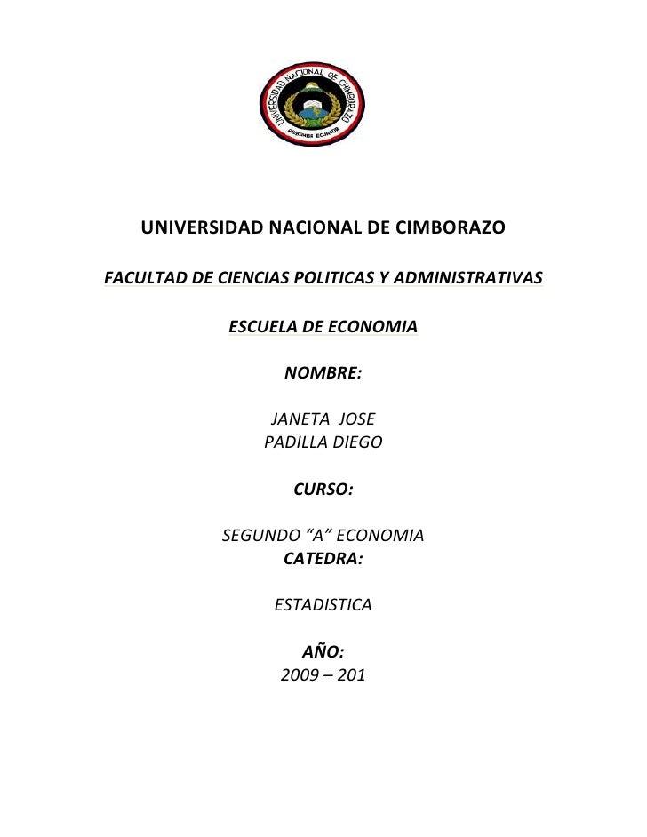 2034540-3467102035798-364143<br />UNIVERSIDAD NACIONAL DE CIMBORAZO<br />FACULTAD DE CIENCIAS POLITICAS Y ADMINISTRATIVAS ...