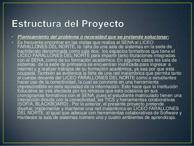 • Objetivos específicos:: • Elaborar y diligenciar las fichas técnicas que soportan la arquitectura de los equipos de cómp...