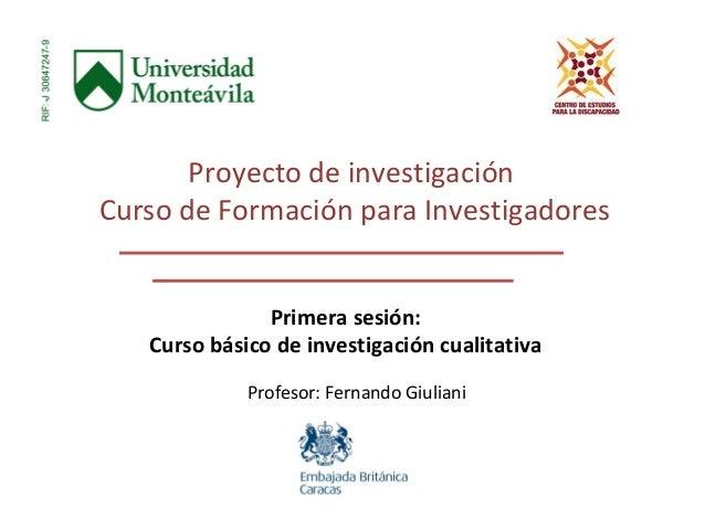 Proyecto de investigaci n curso de formaci n para for Proyecto de construccion de aulas de clases