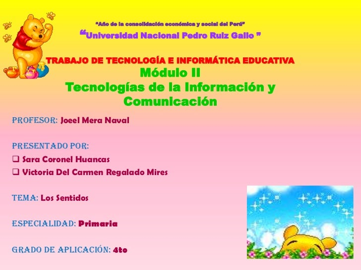 """""""Año de la consolidación económica y social del Perú""""                 """"Universidad Nacional Pedro Ruiz Gallo """"         TRA..."""