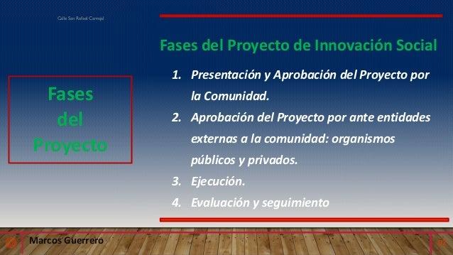 Proyecto de manejo adecuado de desechos sólidos en la calle San Rafael de Carvajal  Slide 2