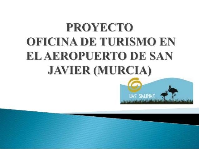 Proyecto de oficina de turismo reparado for Oficina de turismo lorca