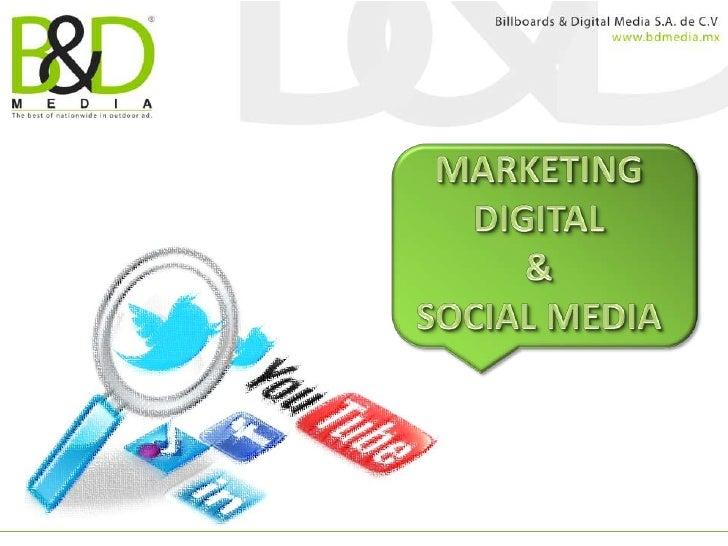 El mundo digital está presente, el marketing ha evolucionado; lasnuevas plataformas         y tecnologías sociales son par...