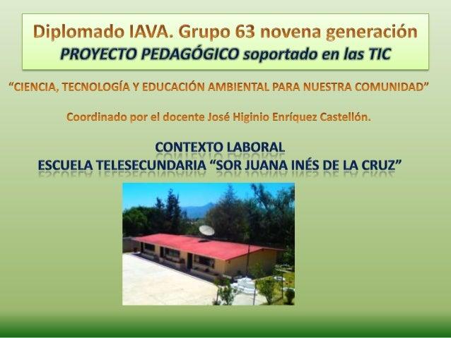 """• Alumnos de Telesecundaria, 1°, 2° y 3° grado, """"Sor Juana Inés de la Cruz""""• Egresados y/o alumnos del Colegio de Bachille..."""