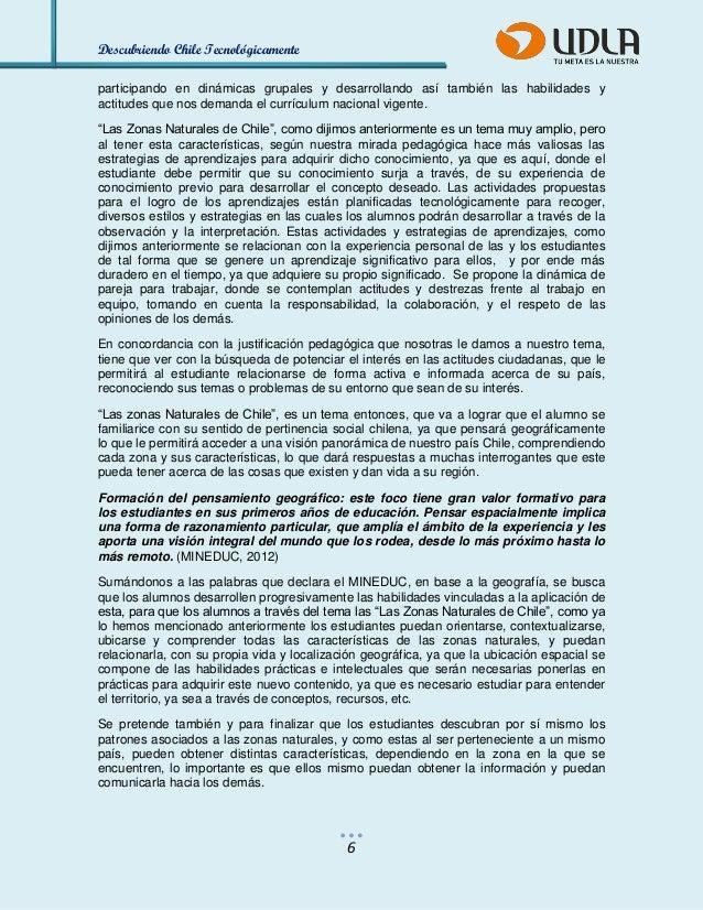 Descubriendo Chile Tecnológicamente  6  participando en dinámicas grupales y desarrollando así también las habilidades y a...