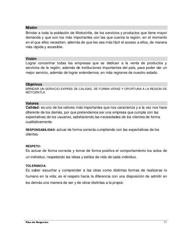Proyecto de servicios express lic manuel for Empresas de limpieza en valencia que necesiten personal