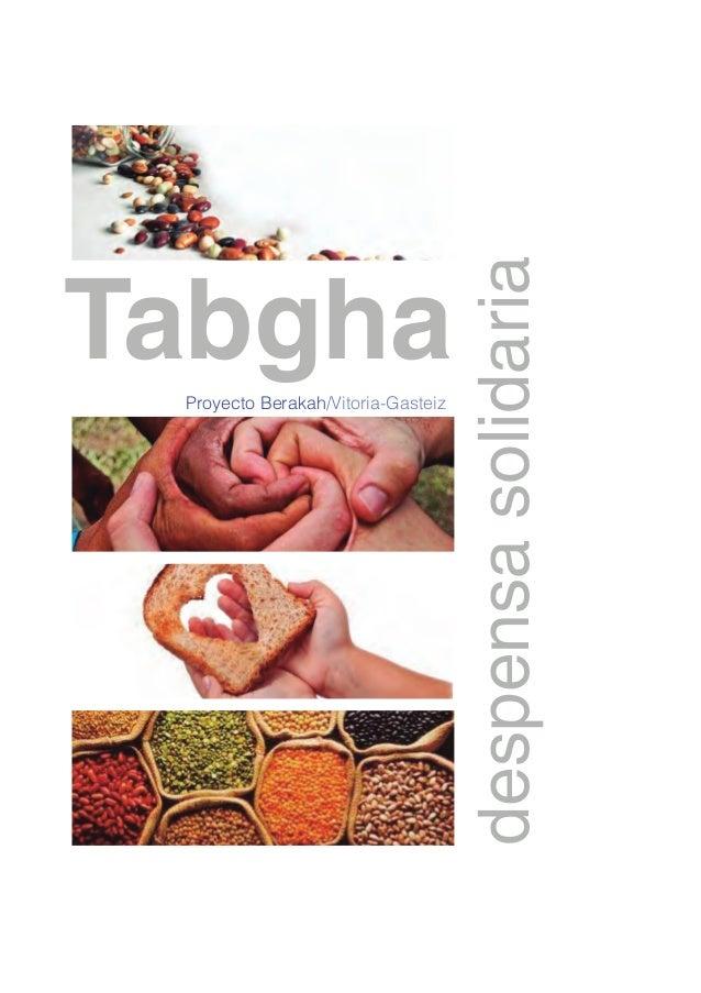 TabghaProyecto Berakah/Vitoria-Gasteiz despensasolidaria