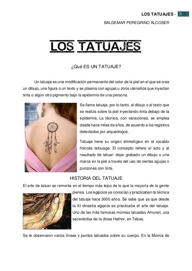 Proyecto De Tatuajes