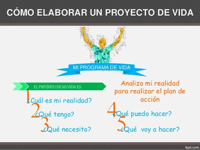 C mo realizar un proyecto de vida - Como crear un proyecto ...