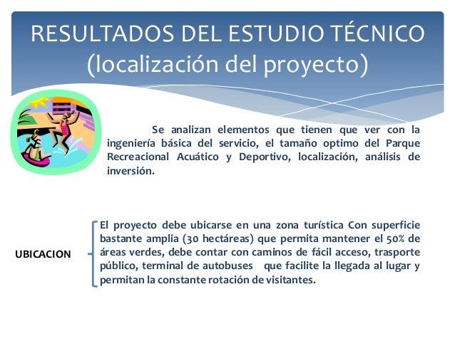 Proyecto diapositivas 4 for Proyecto tecnico ejemplos