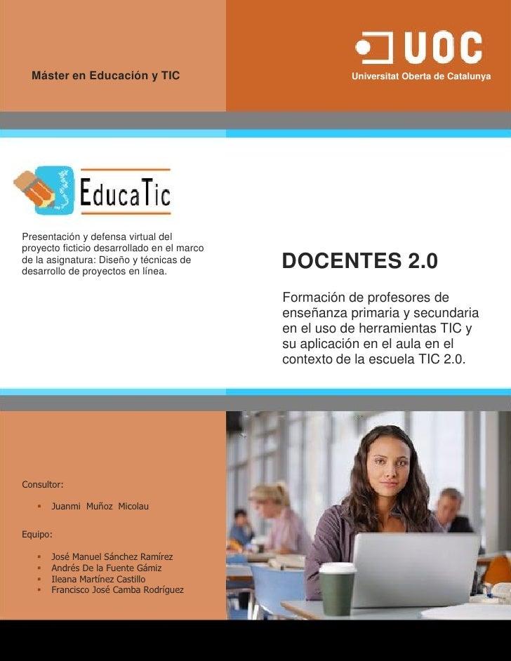 Máster en Educación y TIC                                                                   Universitat Oberta de Cataluny...