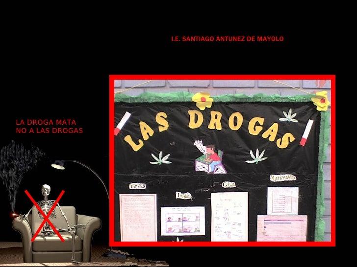 Proyecto drogas for Concepto de periodico mural