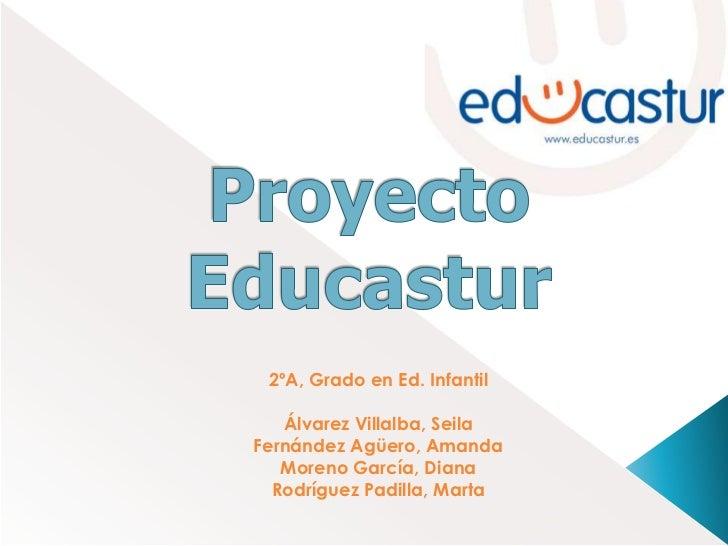 Proyecto Educastur<br />2ºA, Grado en Ed. Infantil<br />Álvarez Villalba, Seila<br />Fernández Agüero, Amanda<br />Moreno ...